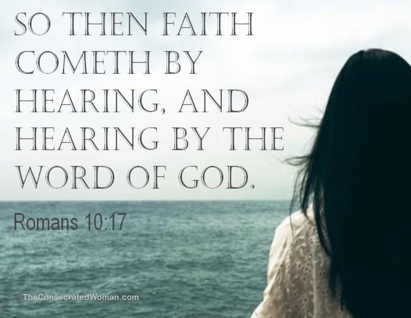 Romans 10 17