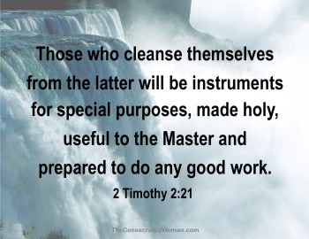 2 Timothy 2 21