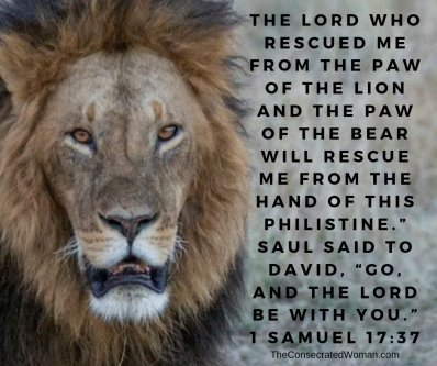 1 Samuel 17 37