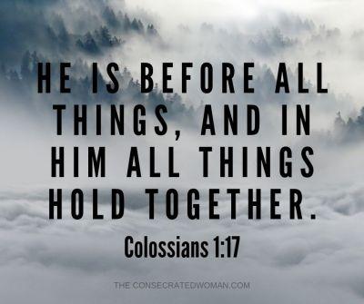 Colossians 1 17
