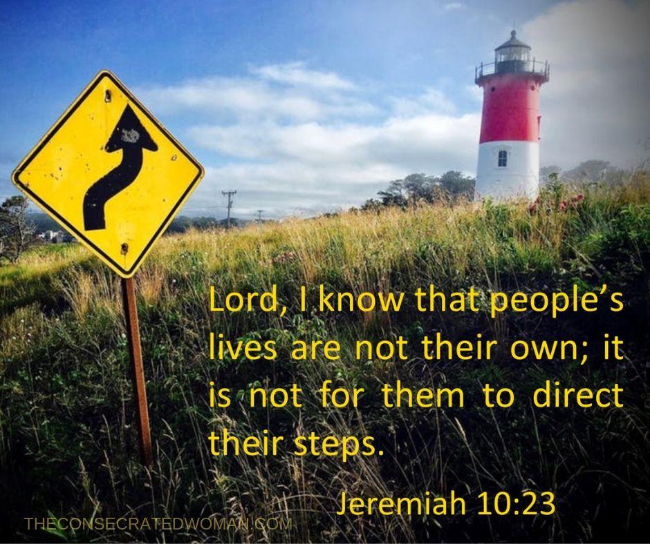 Jeremiah 10 23