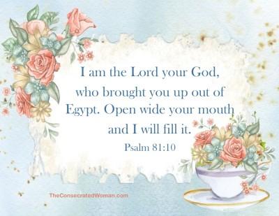 Psalm 81 10