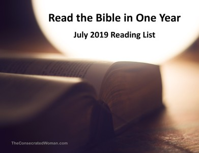 7 July Read the Bible in One Year Image