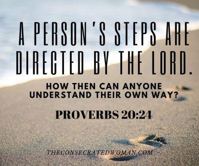 Proverbs 20 24