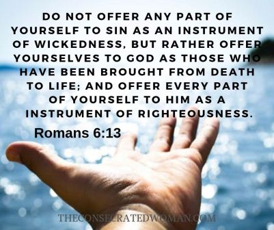 Romans 6 13
