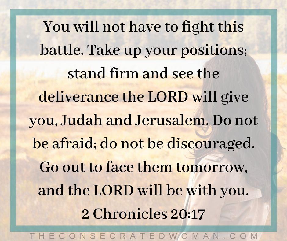 2 Chronicles 20 17
