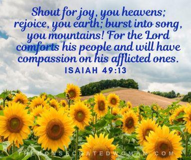 Isaiah 49 13