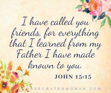 John 15 15