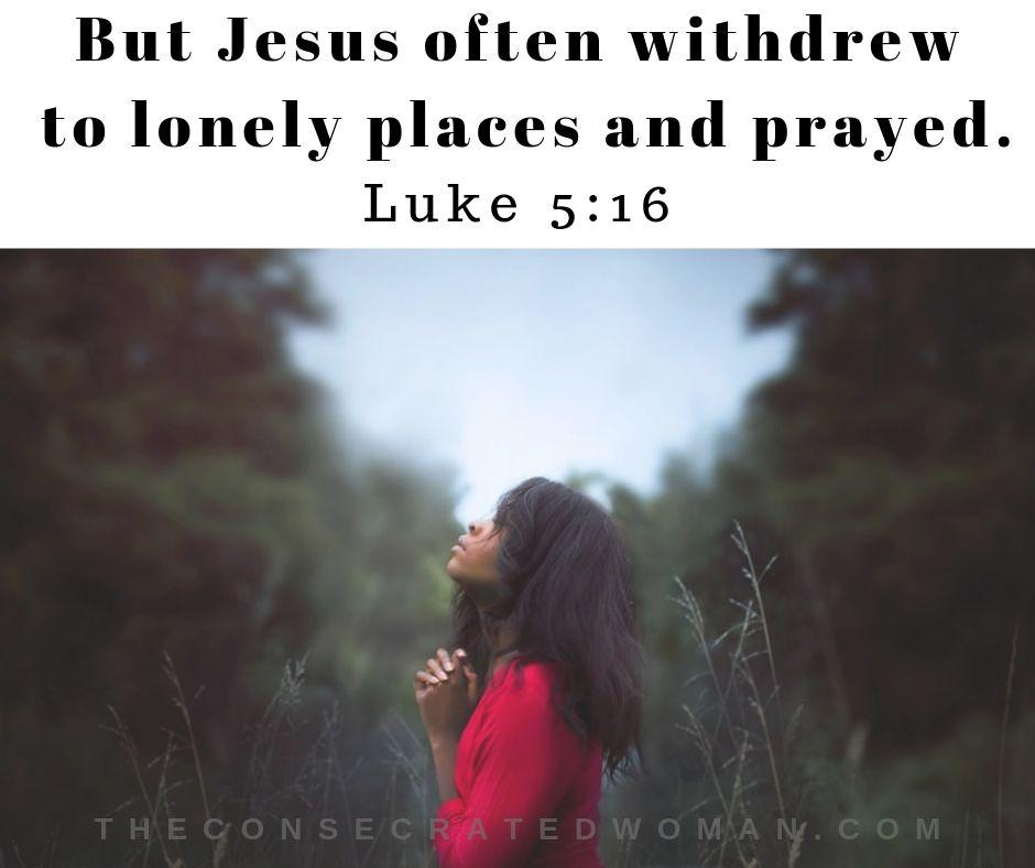 Luke 5 16