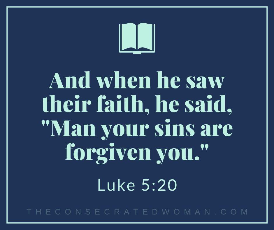 Luke 5 20
