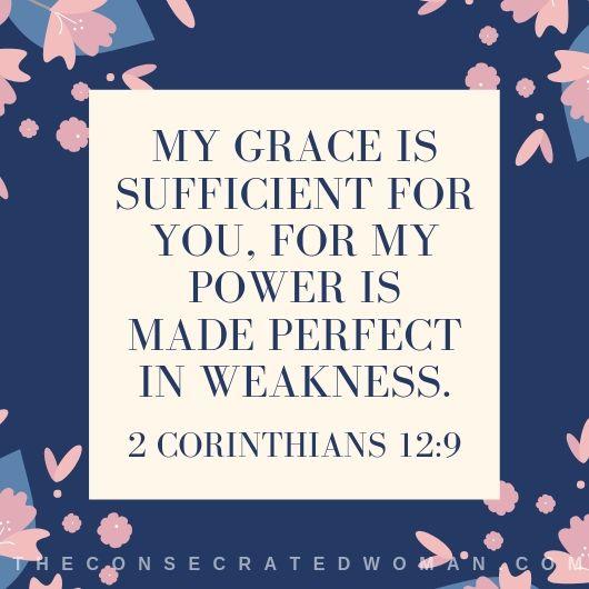 2 Corinthians 12 9