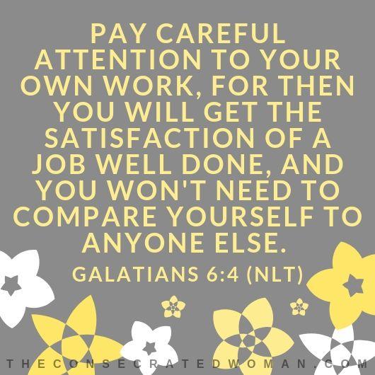 Galatians 6 4