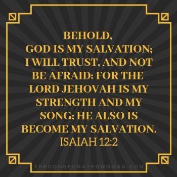 Isaiah 12 2