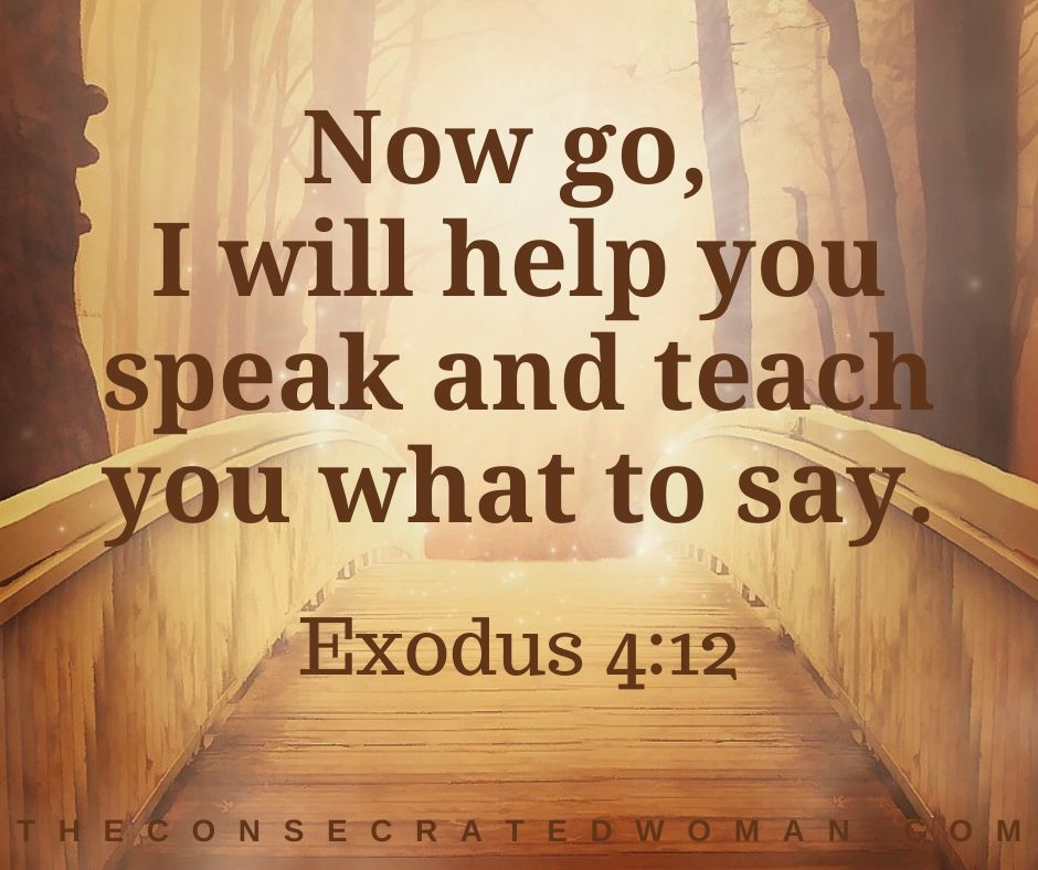 Exodus 4 12