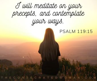 Psalm 119 15