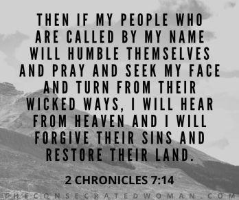 2 Chronicles 7 14