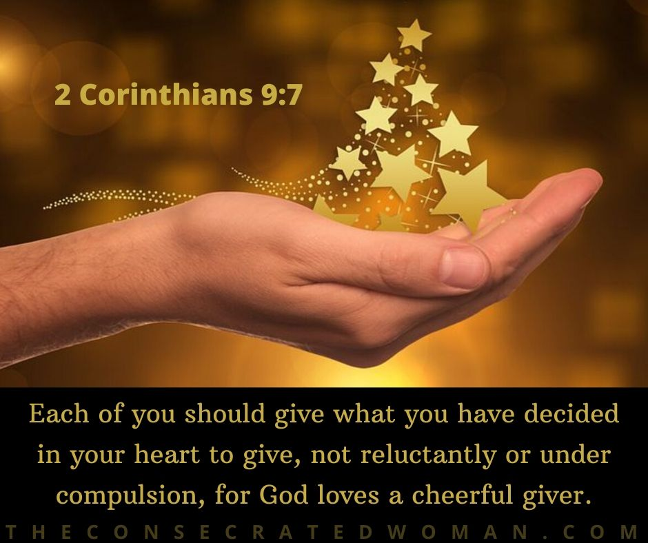 2 Corinthians 9 7