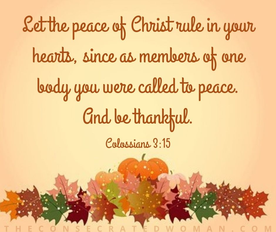 Colossians 3 15