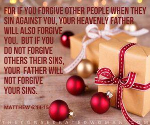 Matthew 6 14-15