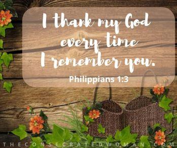 Philippians 1 3