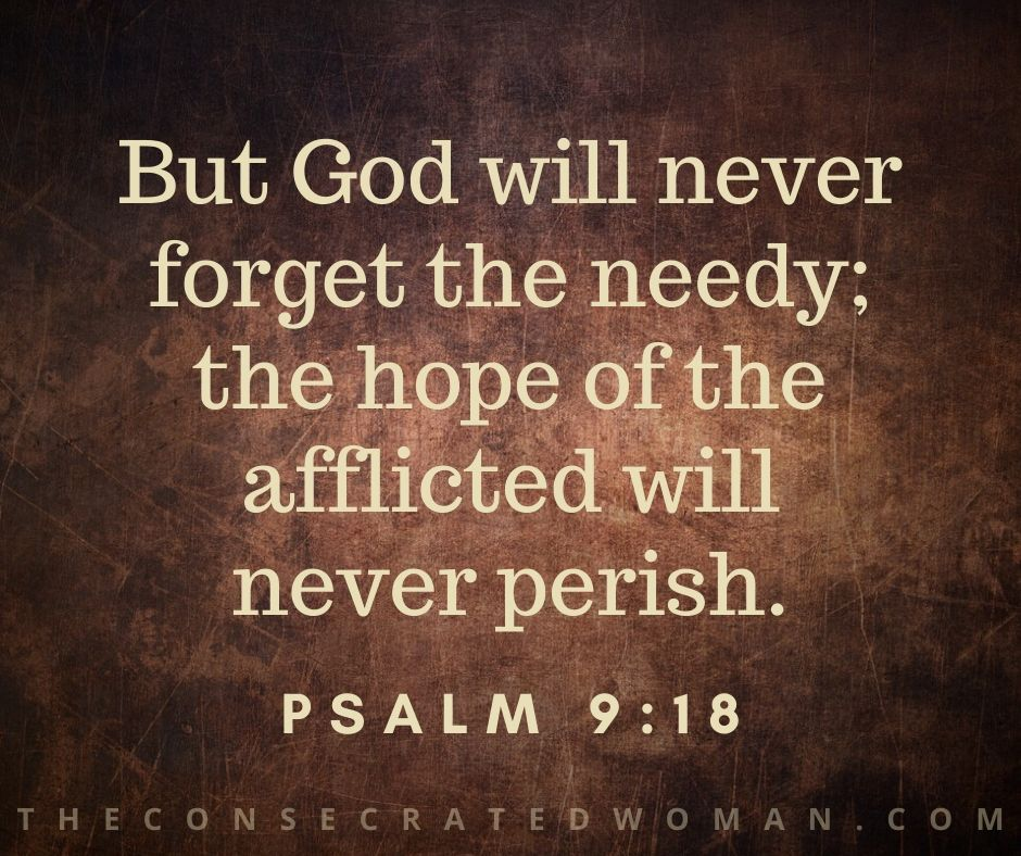 Psalm 9 18