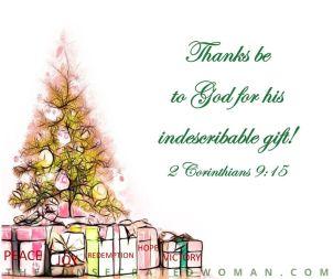2 Corinthians 9 15