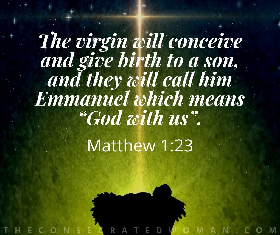 Matthew 1 23