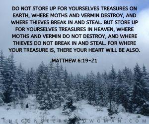 Matthew 6 19-21