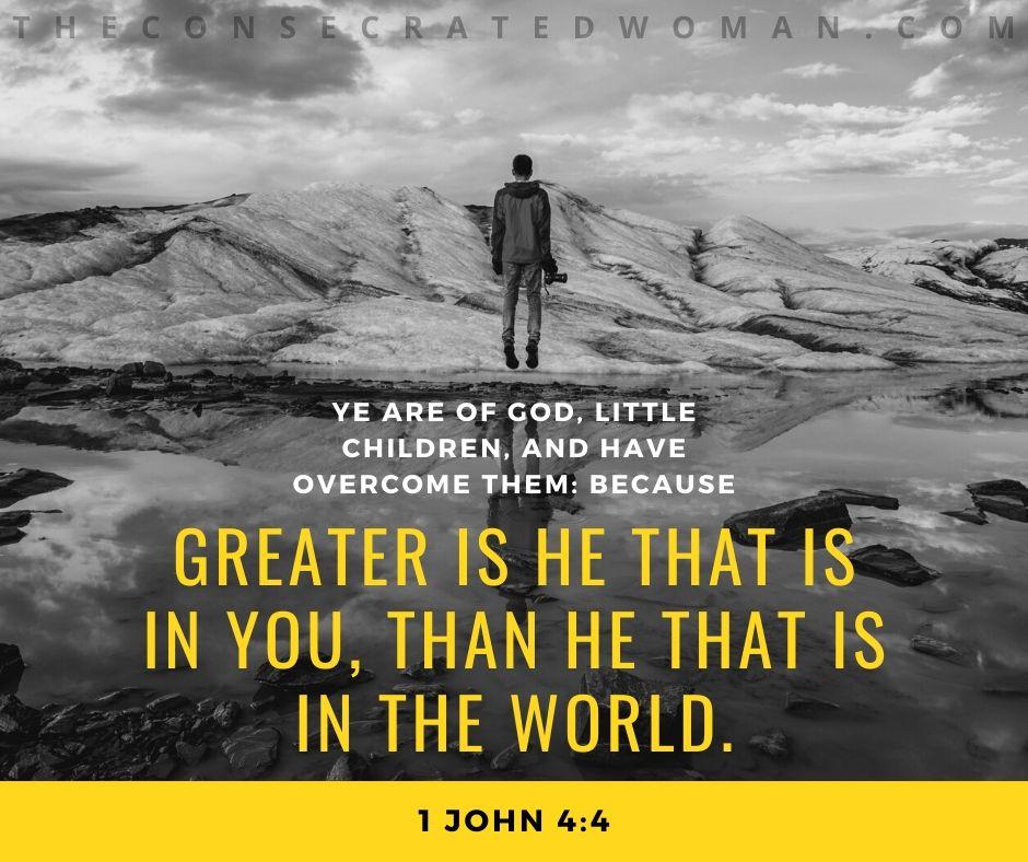 1 John 4 4 kjv