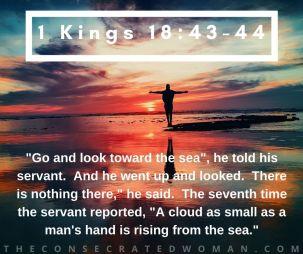 1 Kings 18 43-44