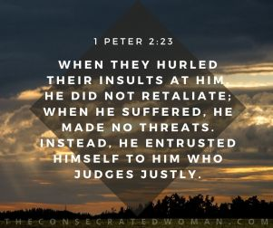 1 Peter 2 23