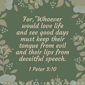 1 Peter 3 10