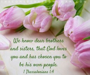 1 Thessalonians 1 4