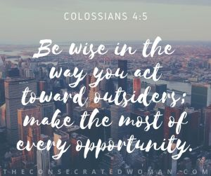 Colossians 4 5