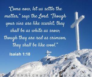 Isaiah 1 18