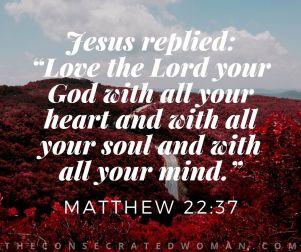 Matthew 22 37