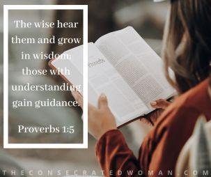 Proverbs 1 5