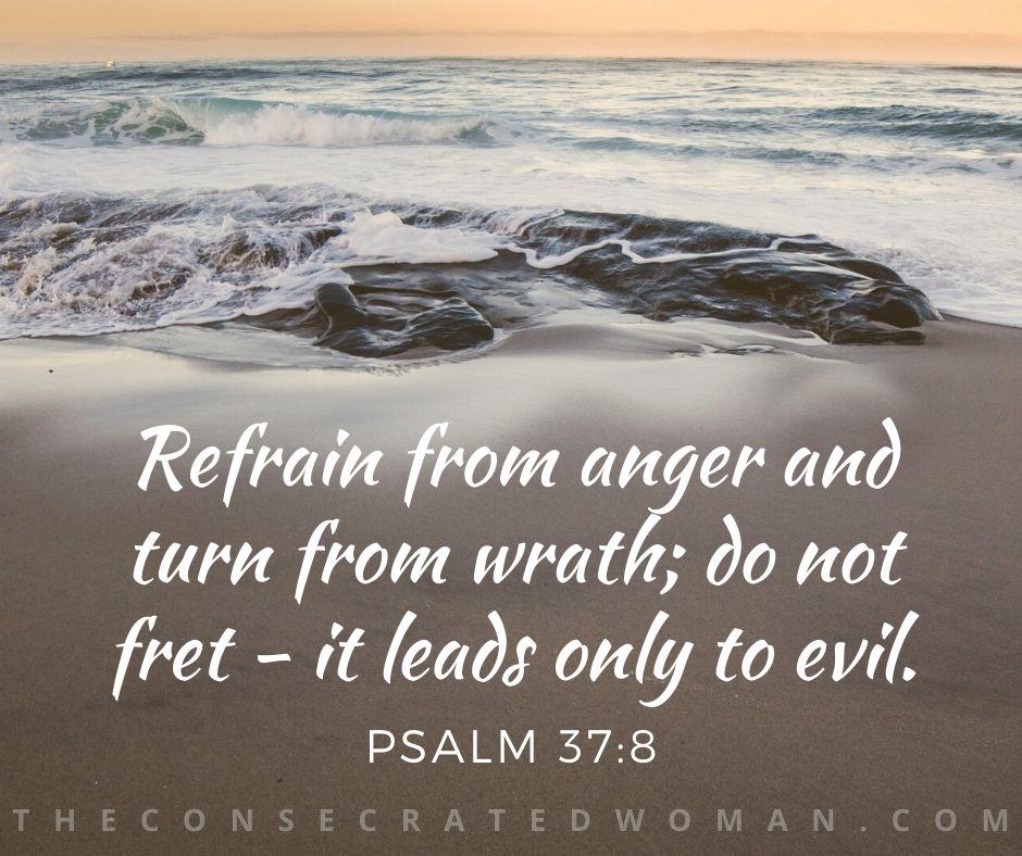 Psalm 37 8