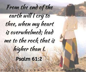 Psalm 61 2 2
