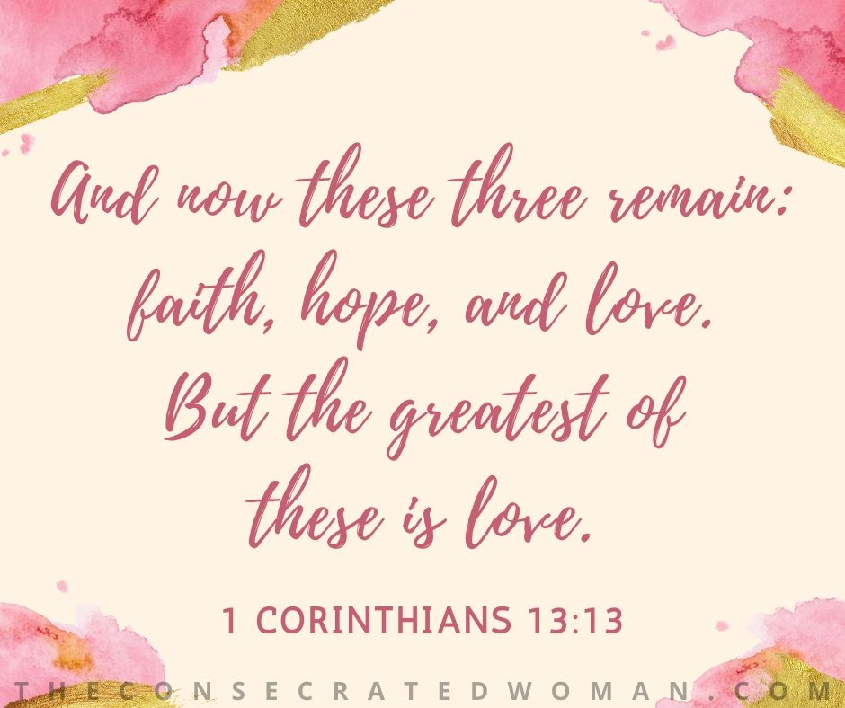1 Corinthians 13 13