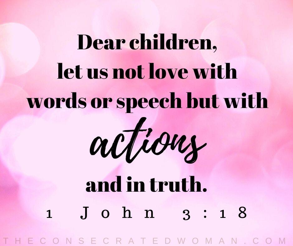 1 John 3 18