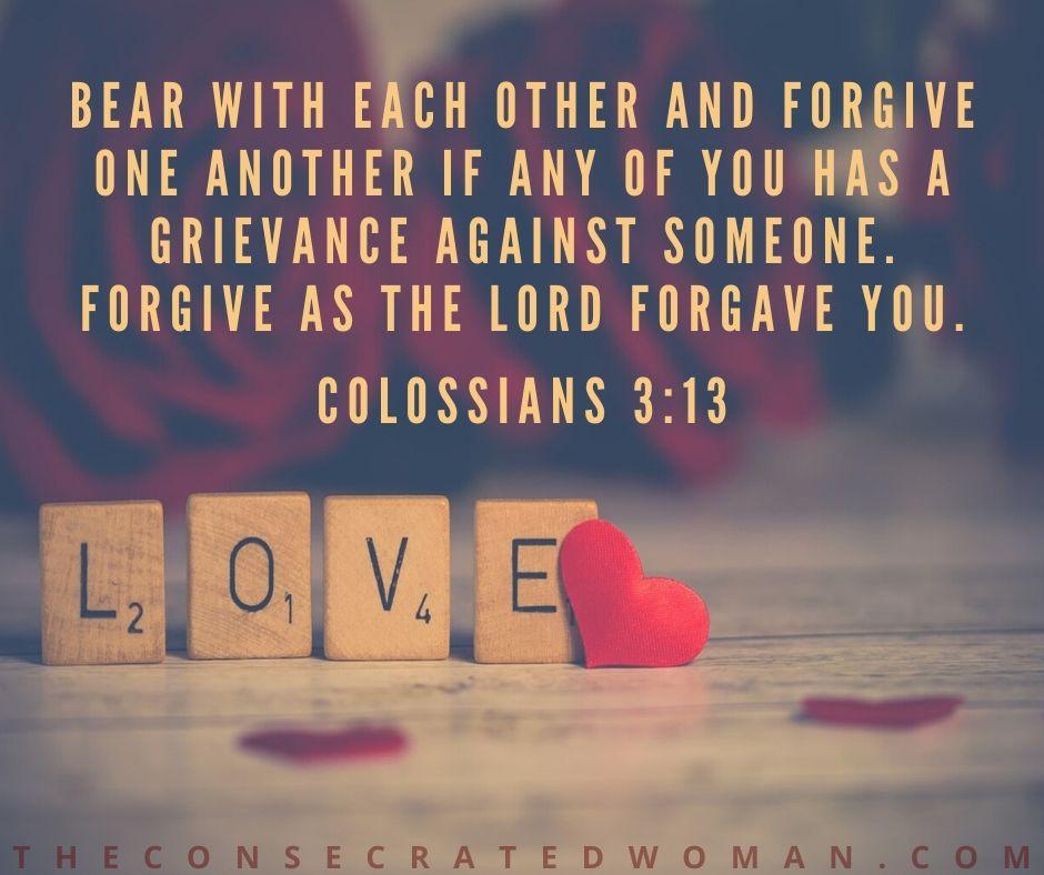 Colossians 3 13