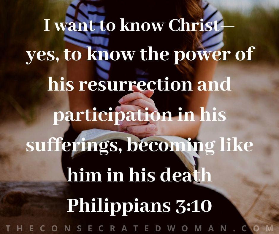 Philippians 3 10