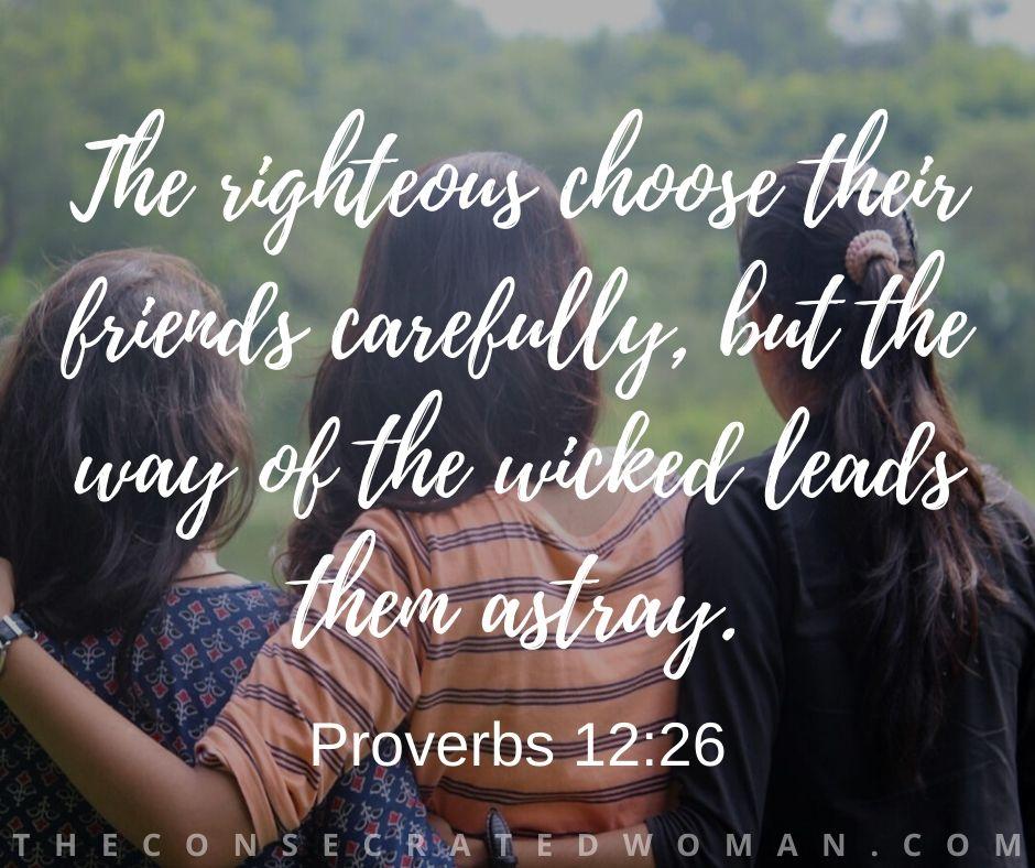 Proverbs 12 26 2