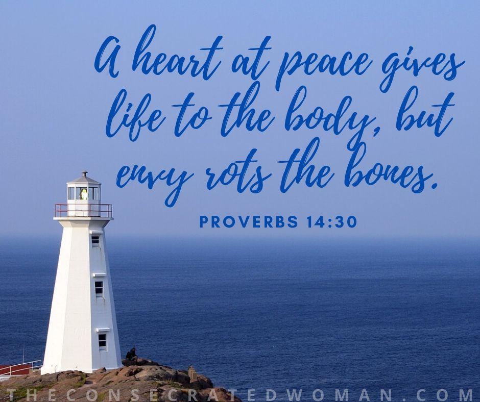 Proverbs 14 30
