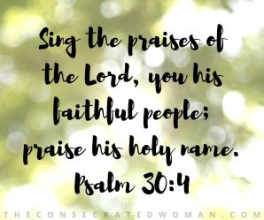 Psalm 30 4