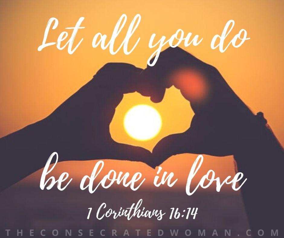 1 Corinthians 16 14 3