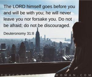 Deuteronomy 31 8