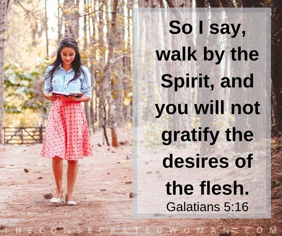Galatians 5 16