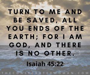Isaiah 45 22